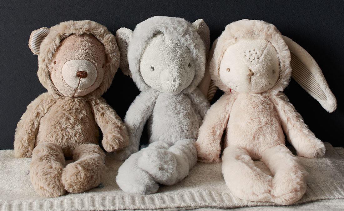 Elalvást segítő babajátékok – rongyik, alvócimbik és társaik