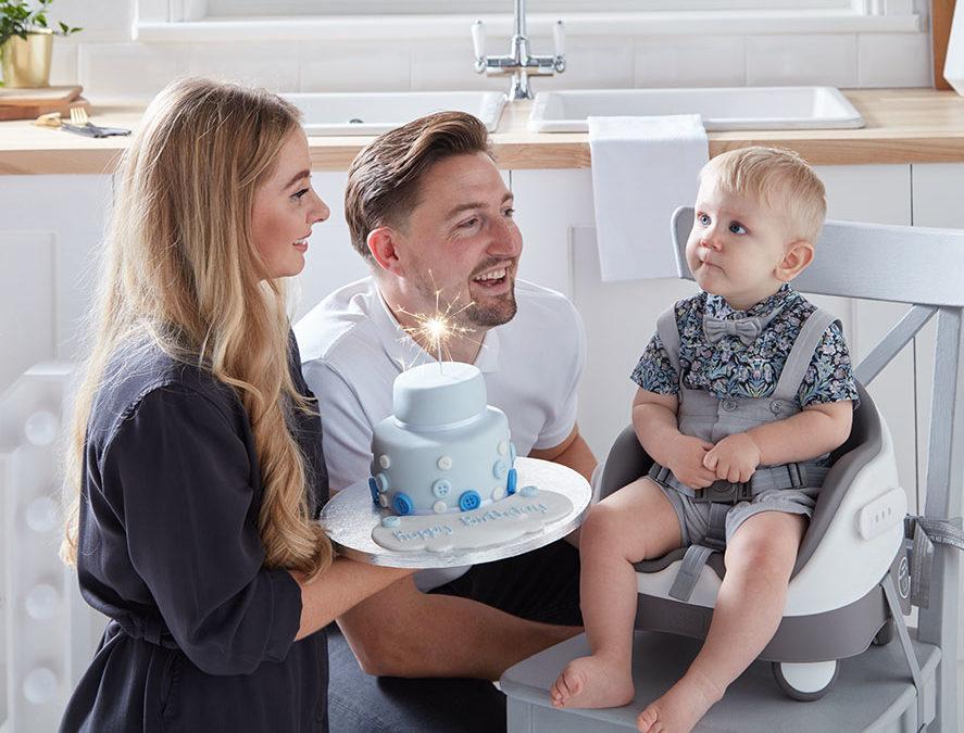 Első szülinap a babával