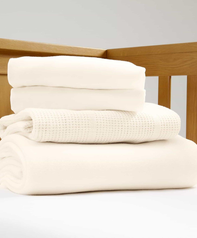 Kiságy kezdő ágynemű szett – Krém