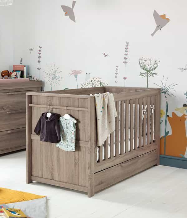 Franklin baba/gyerekágy – Szürke