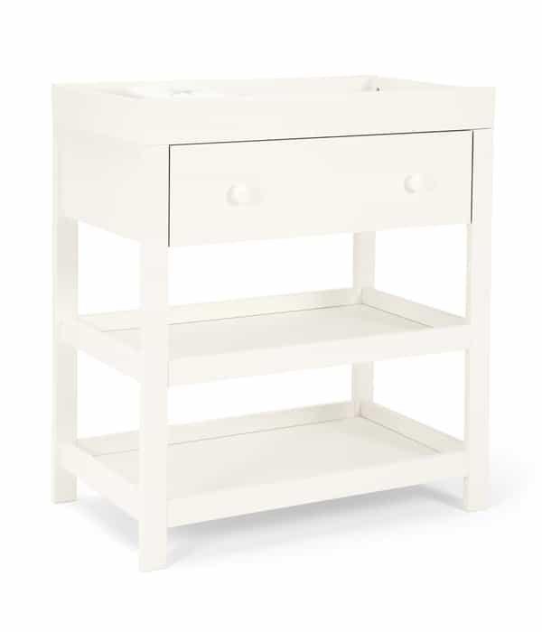 Pelenkázó asztal – Fehér