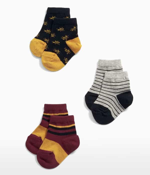 Bogaras zokni – 3db
