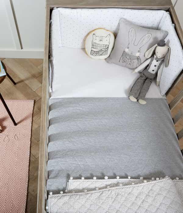 Ágytakaró – Grey Marl