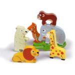 Janod 3D puzzle állatkert