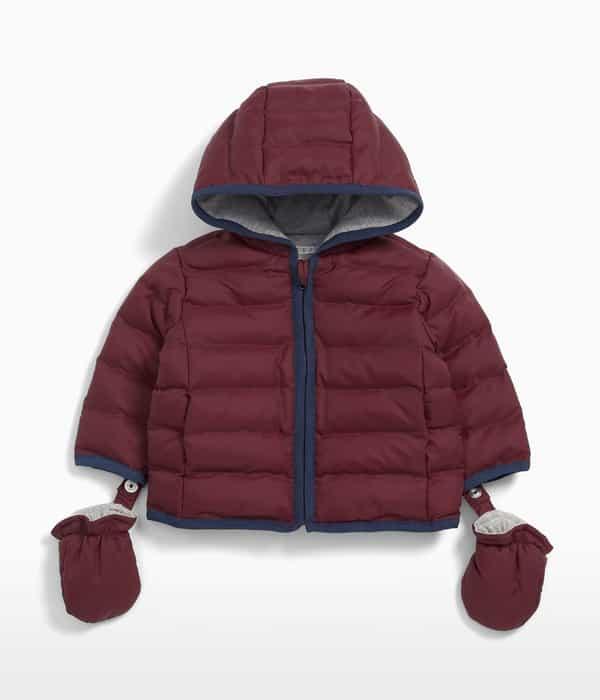 Puffer kabátka