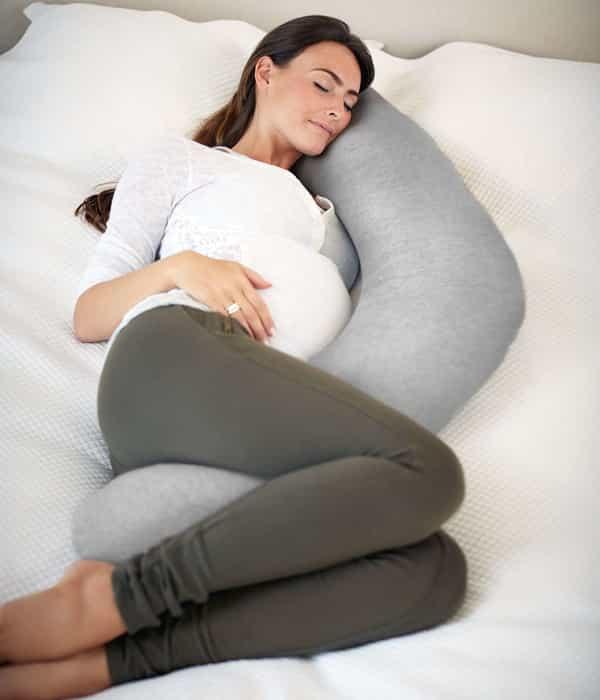 Terhességi és szoptatós párna – Grey Marl