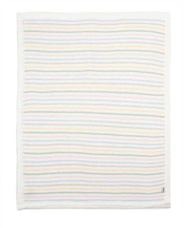 Kötött takaró – puha pasztel