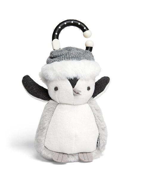 Puha játék- Karácsonyi csüngő pingvin