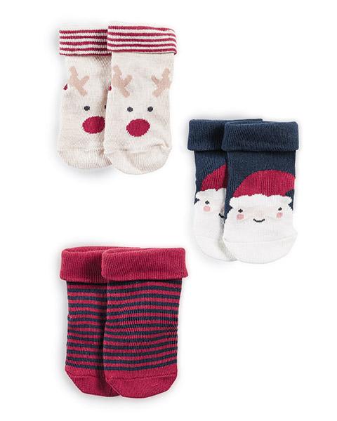 Karácsonyi zokni – 3db