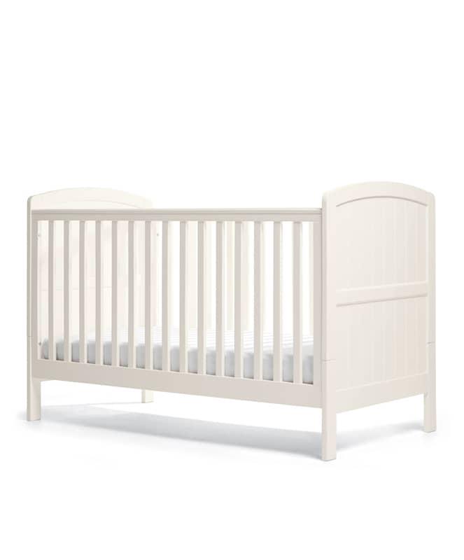 Dover 2 részes bútorcsomag baba/gyerekággyal (70*140) - Fehér