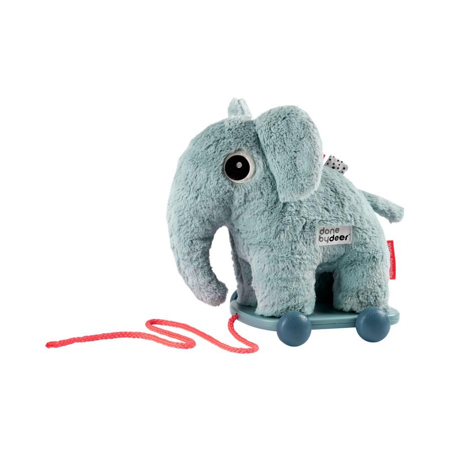 Done by Deer húzható elefánt, kék