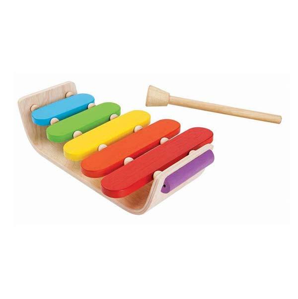 Plan Toys - Ovális Xylofon