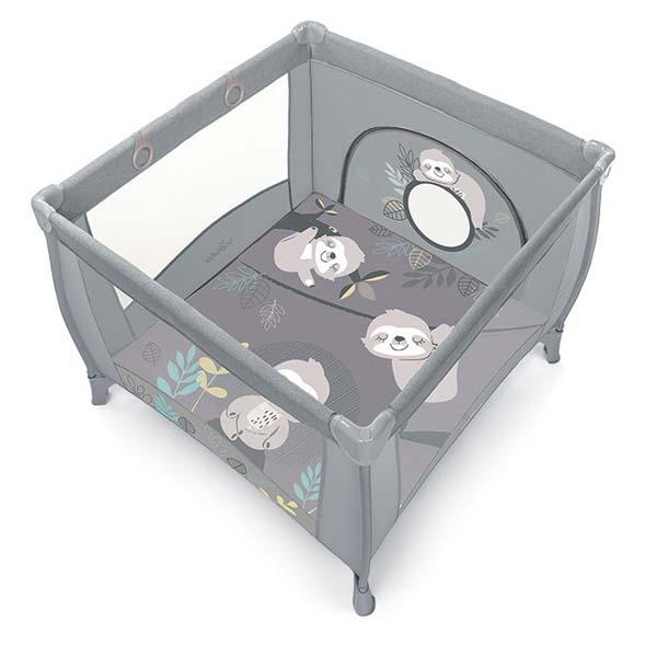 Baby Design Play Up utazó járóka - Light grey