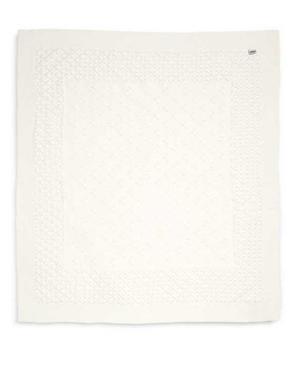 Kötött takaró - Fehér horgolt
