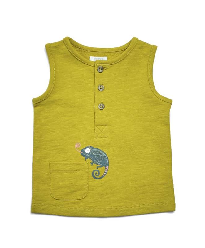 Kaméleonos zsebes trikó