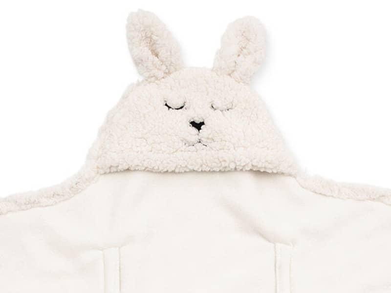 Meleg takaró átlapolós - Off-white